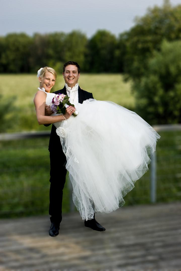Brautpaar die 3