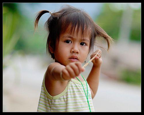 Brave Laos Girl