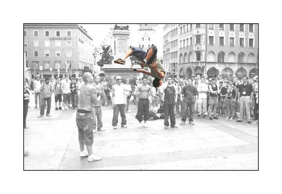 Breakdance auf dem Marienplatz #2