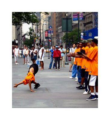 breakdancing auf der 5th av
