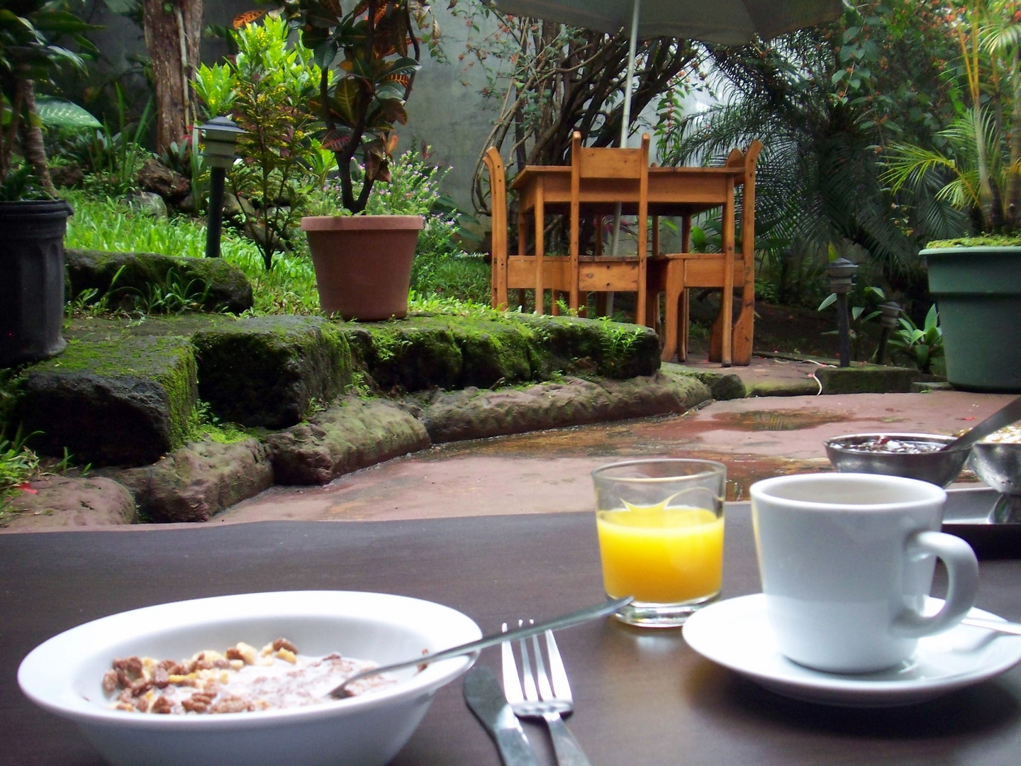 Breakfast in Costa Rica