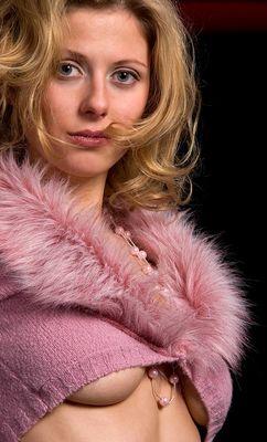 breasts beneath pink
