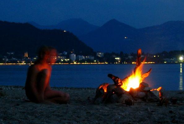 Bregenz by night