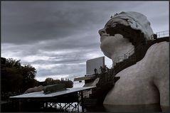 Bregenzer Festspiele - Aufbau der Freilichtbühne