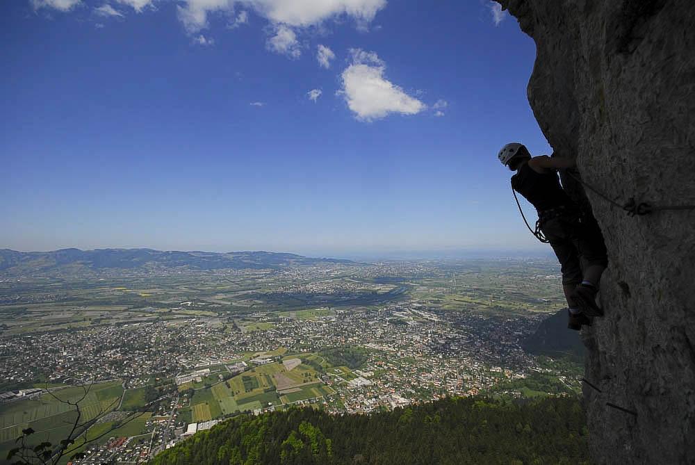 Bregenzer Wald hoch über dem Bodensee