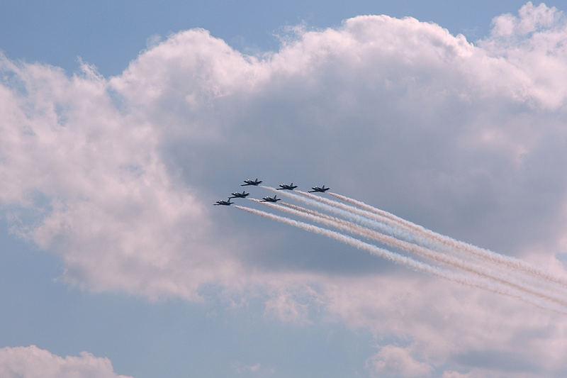 Breitling Jet-Team volle Kraft voraus...