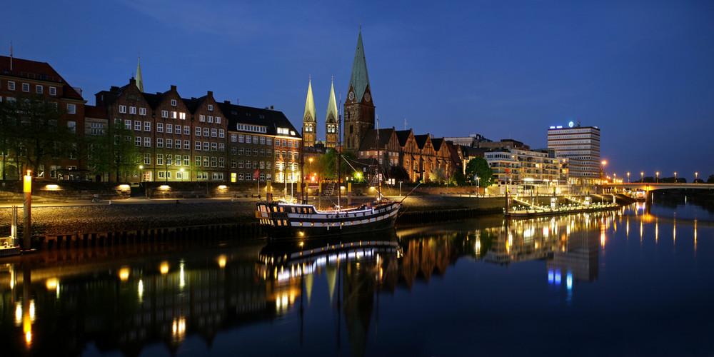 Bremen, an der Schlachte