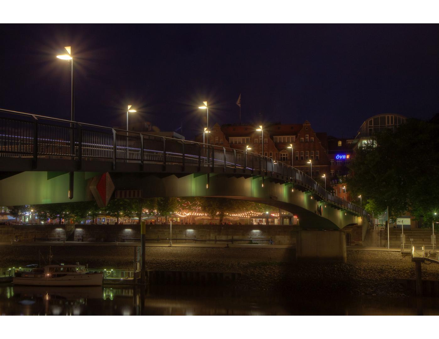 Bremen bei Nacht..