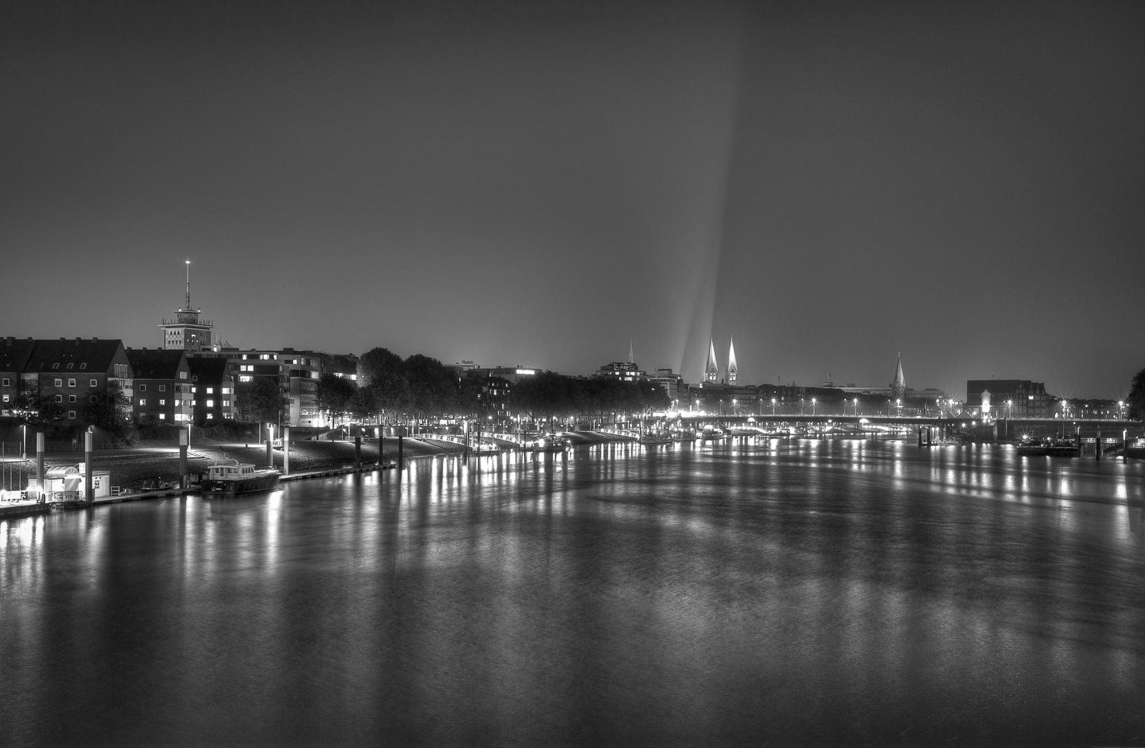Bremen by Night....