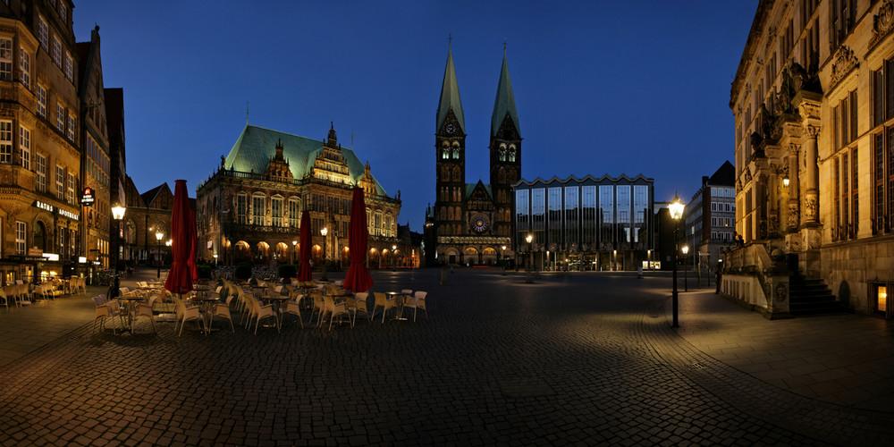 Bremen, Rathaus und Dom