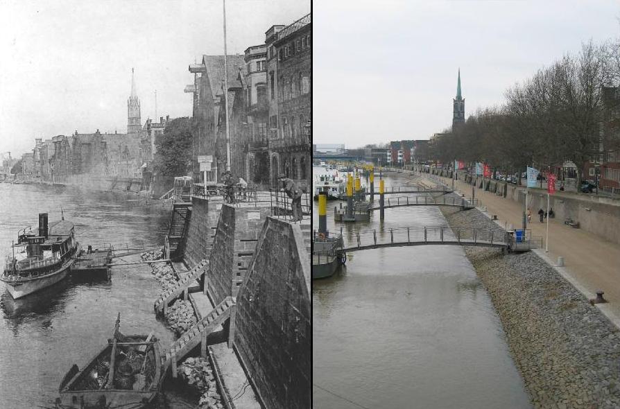 Bremen Schlachte, 1898 / 2005