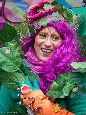 Bremer Samba-Karneval 2012 - Jungle-Frau
