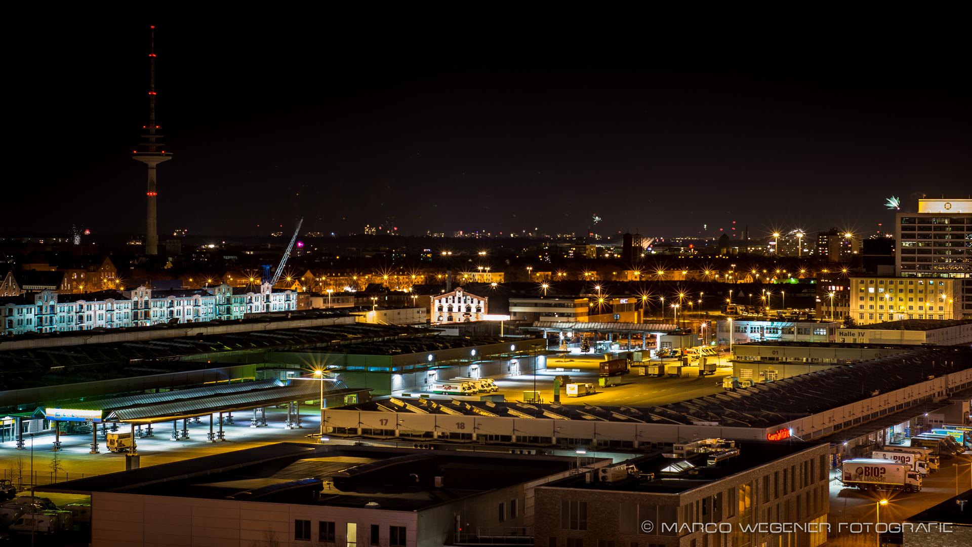 Bremer Überseestadt1@night