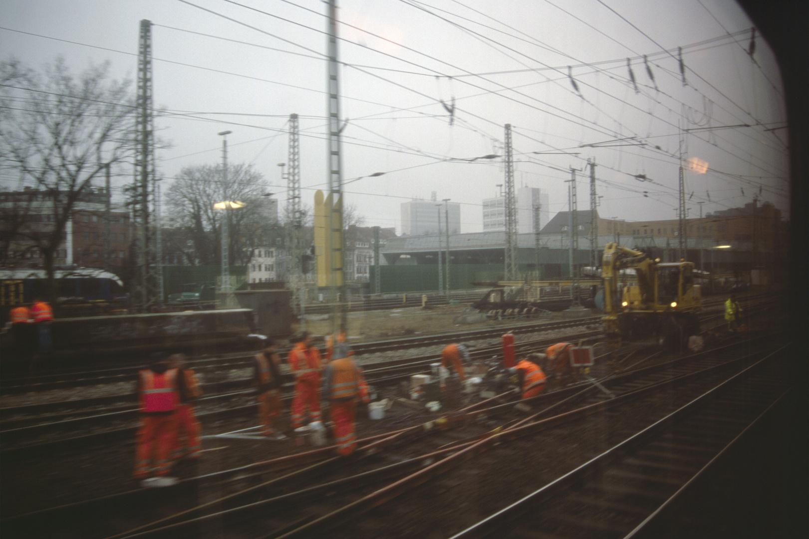 Bremer Zugünglück Februar 2013