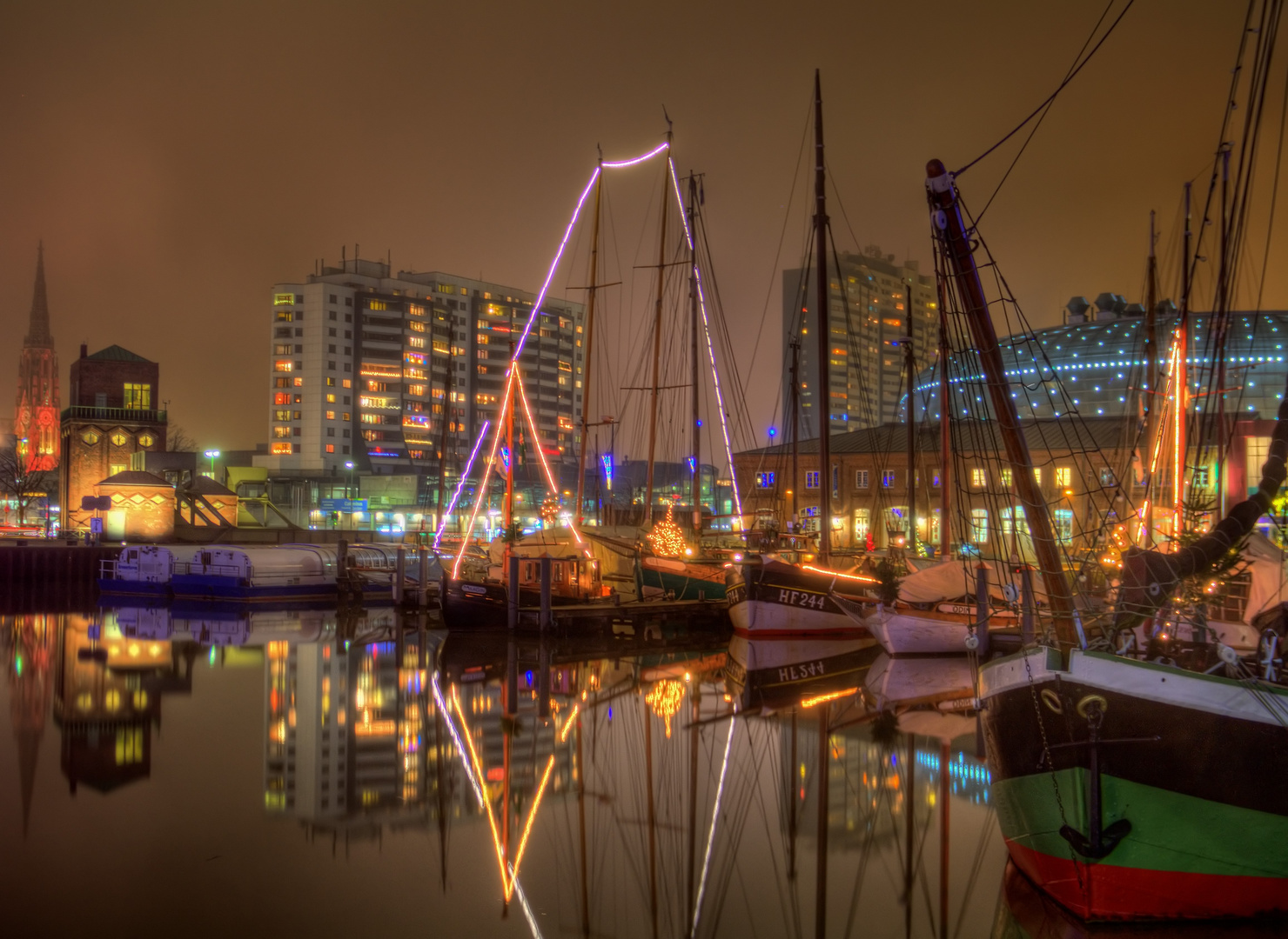 Bremerhaven am Abend II