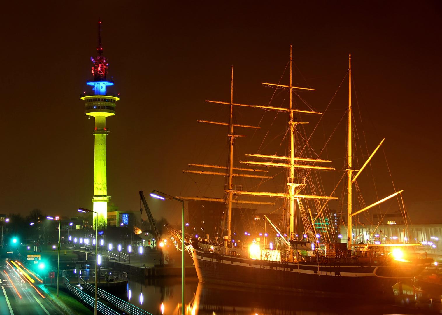 Bremerhaven am Abend III