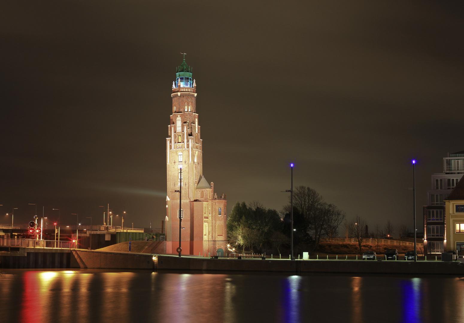 Bremerhaven bei Nacht 1