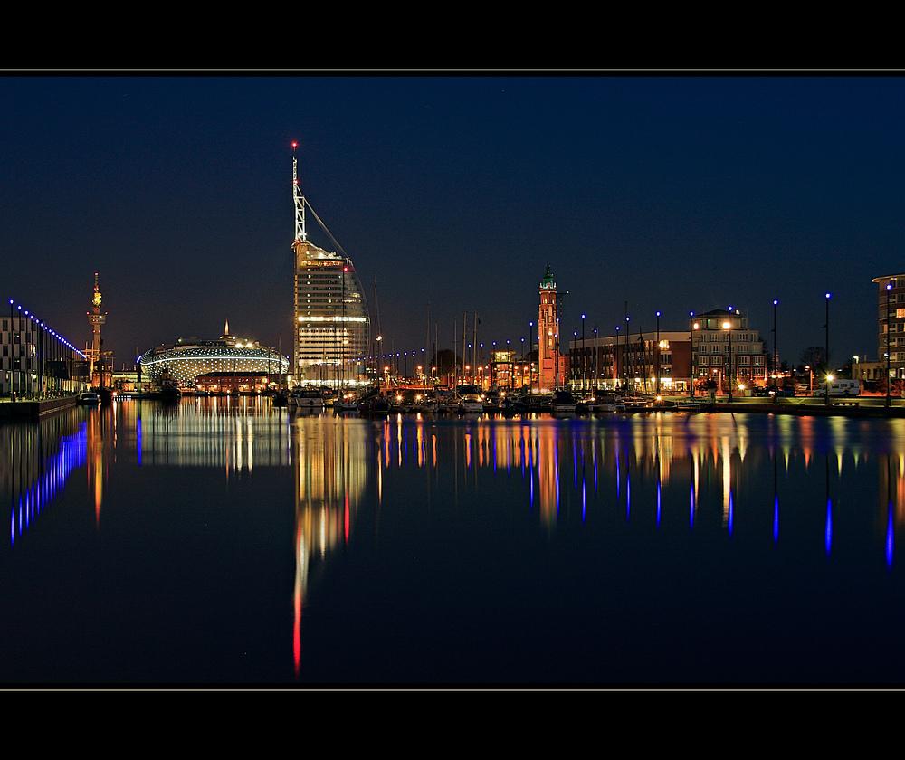 Bremerhaven bei nacht foto bild architektur architektur bei nacht bremerhaven cuxhaven - Architektur bremerhaven ...