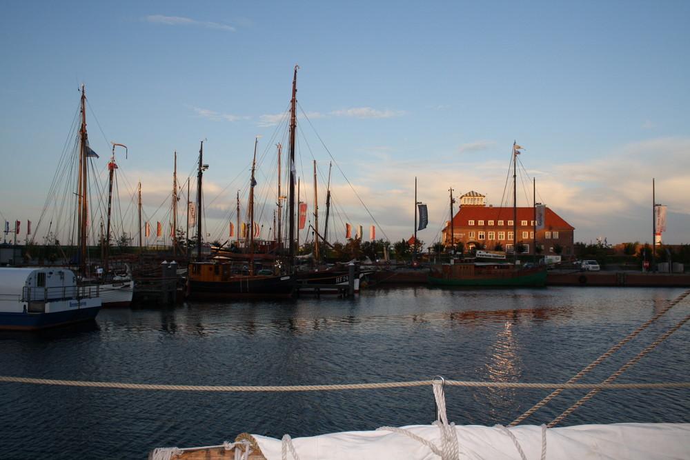 Bremerhaven früh morgens