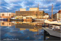 Bremerhaven im Sonnenschein