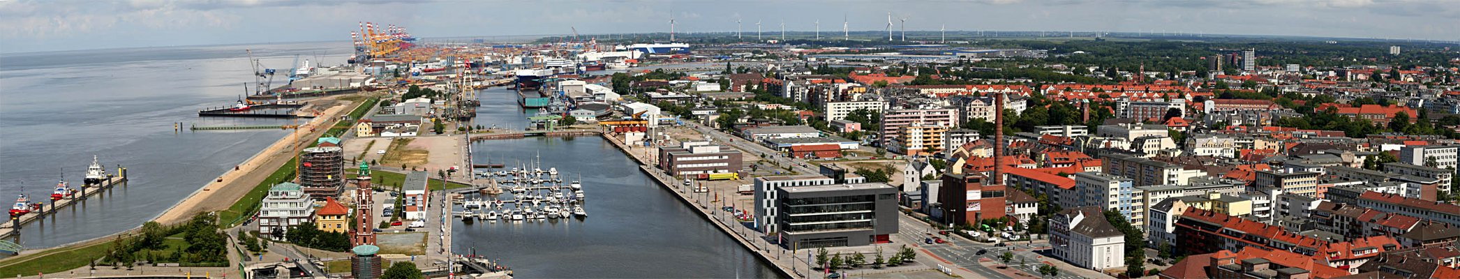 Bremerhaven - Panorama