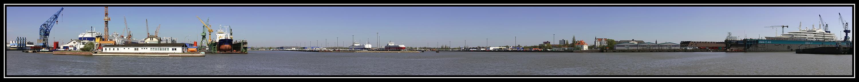 Bremerhaven panorama