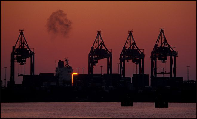 Bremerhaven Sunset