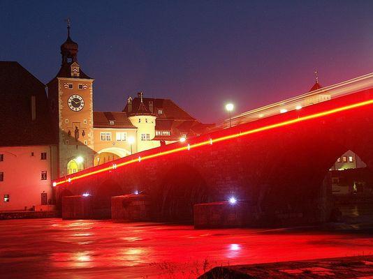 Brennende Donau