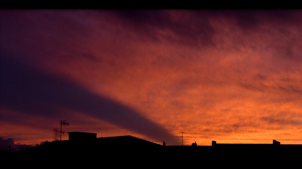 Brennender Himmel...