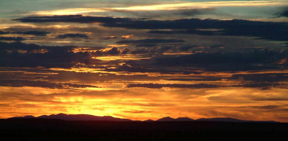 Brennender Himmel am Grand Canyon