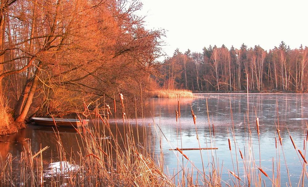 Brennender See