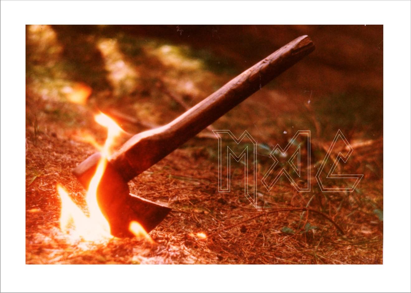 brennendes Beil