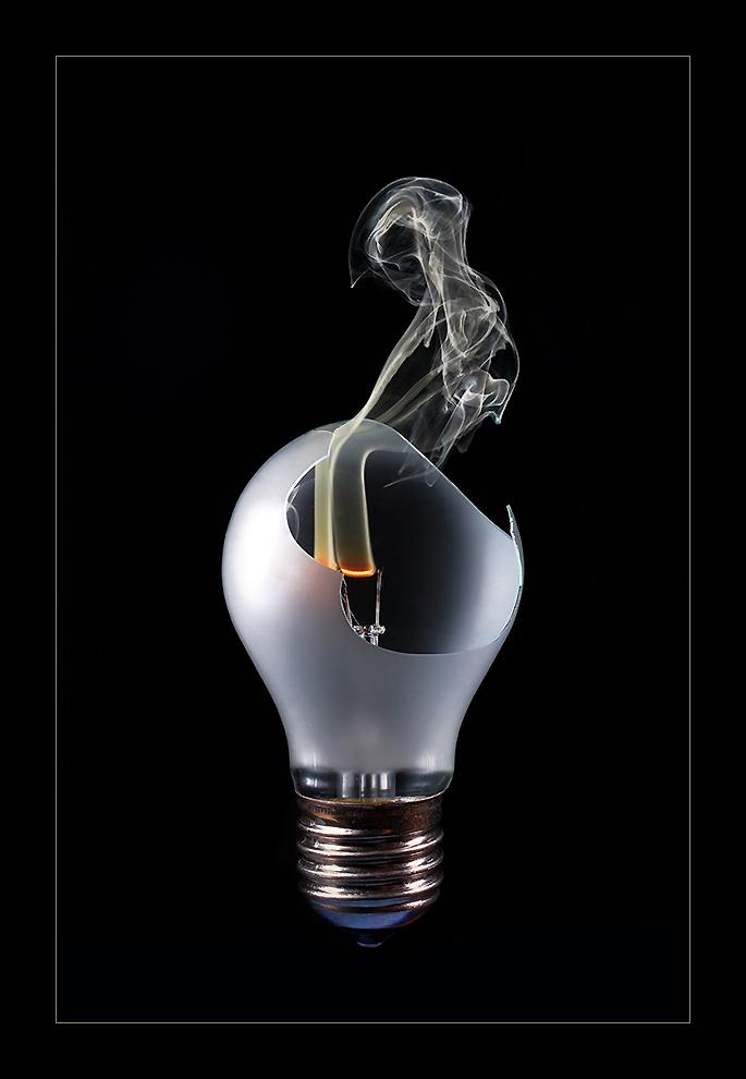 Brennendes Licht