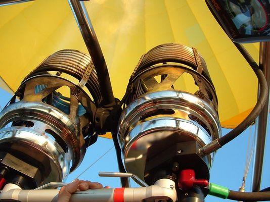 Brenner im Heißluftballon