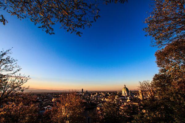 Brescia dall'alto