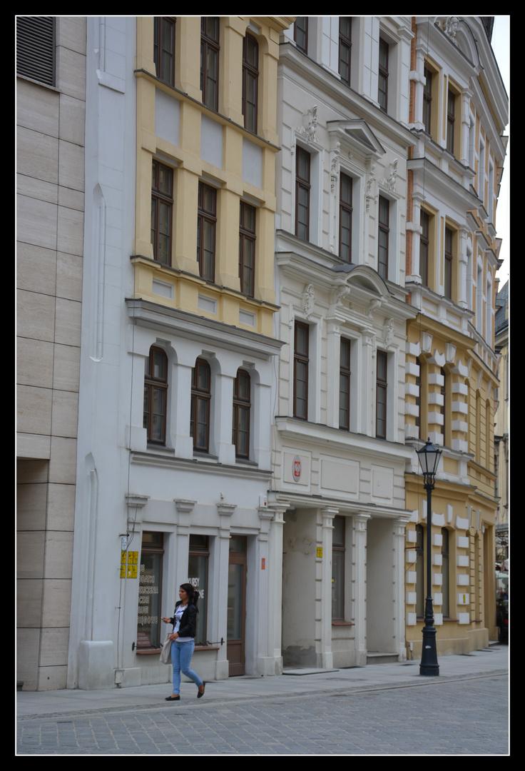 Breslau (Wroclaw) Altstadtfassade