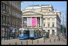Breslau (Wroclaw) Klassische Straßenbahn zu klassischer Musik