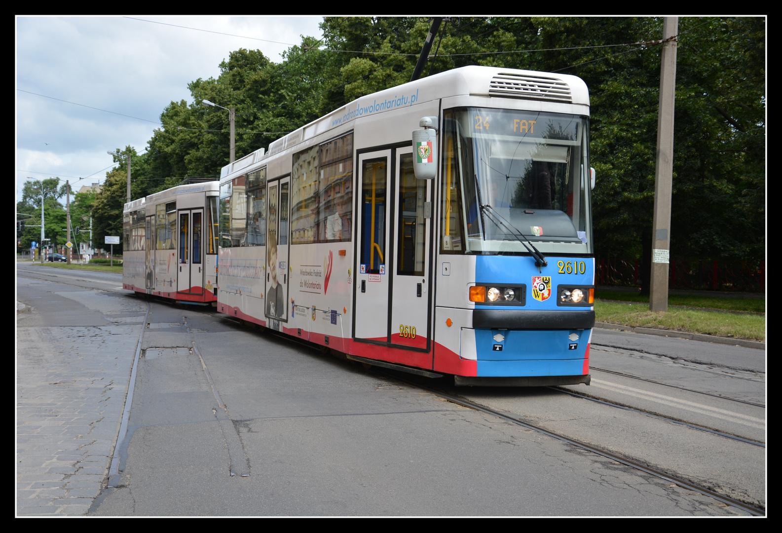 Breslau (Wroclaw) Kleinbahnrelikt