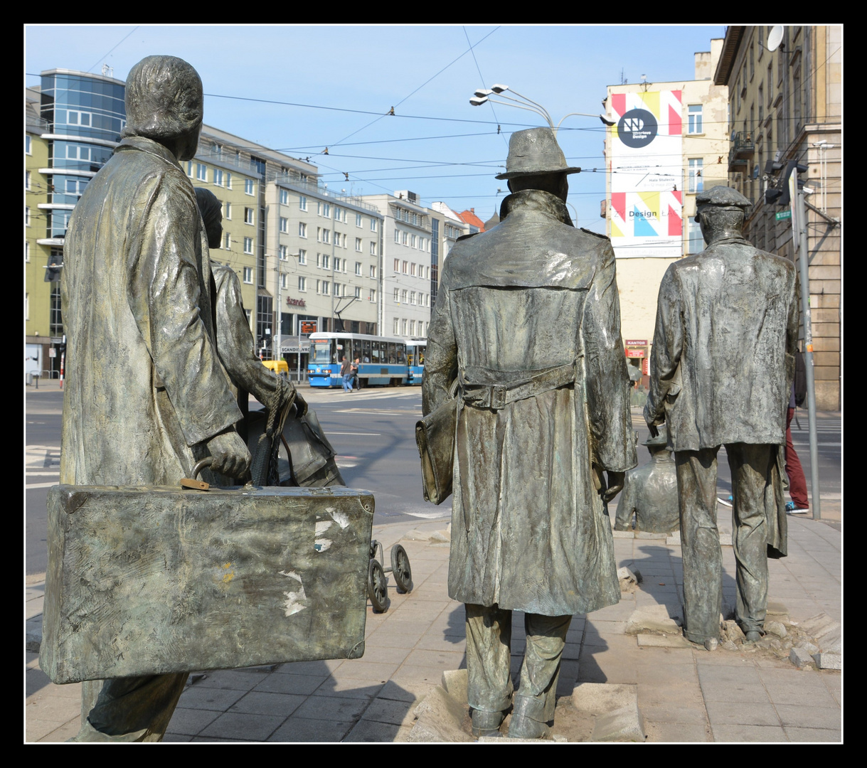 "Breslau (Wroclaw) ""Massives"" Fahrgastaufkommen"