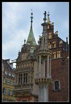 Breslau (Wroclaw) Rathausdetails