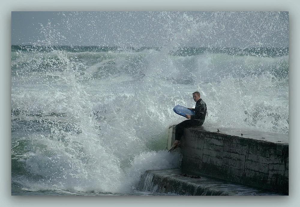 Bretagne 08 - Wellen & Meer