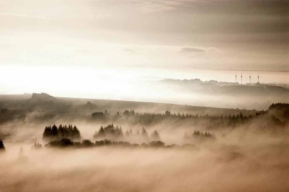 Bretagne dans la brume