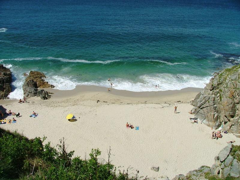 bretagne plage en été