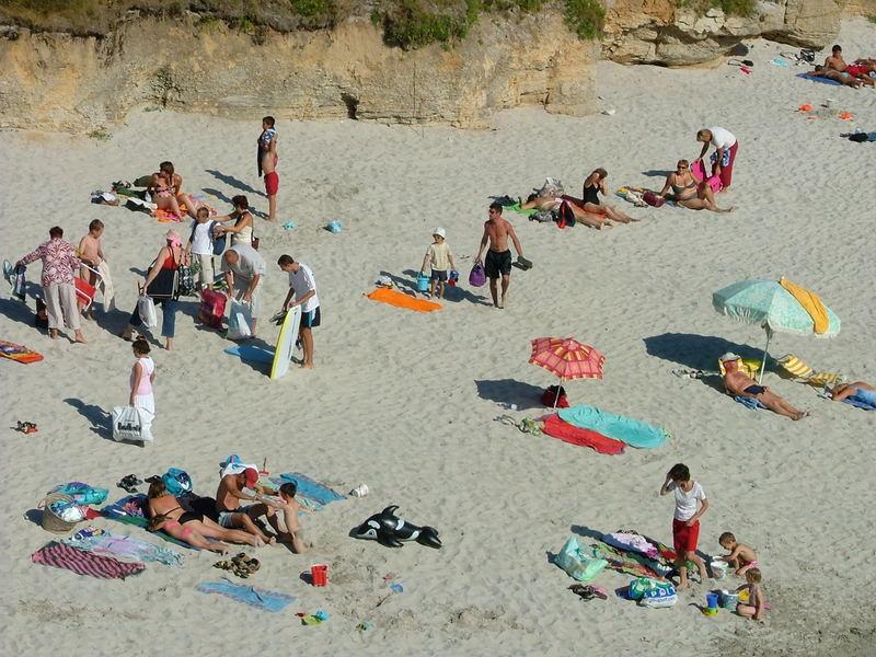 bretagne plage été britanny