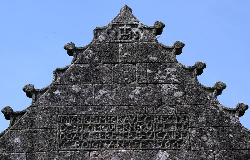 Bretonischer Kirchengiebel
