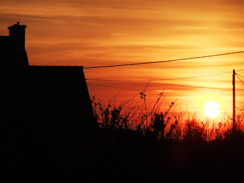 bretonischer Sonnenuntergang