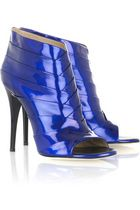 Brian Atwood Wagner Patent Peep Toes