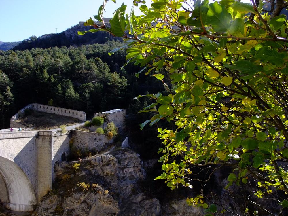 Briançon. Le pont Louis XV