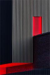 bricks, red, white und black