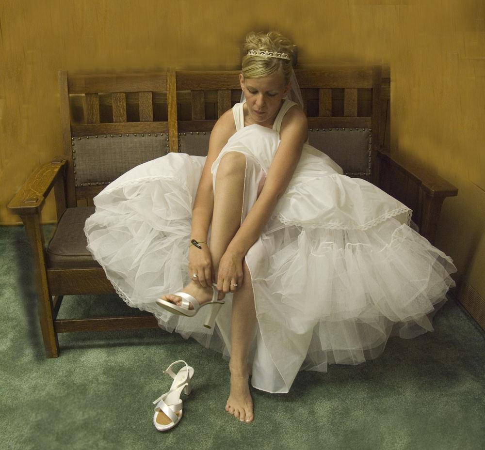 Bride Unaware